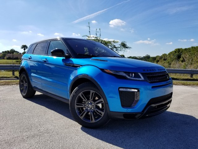 Land Rover Evoque >> New 2019 Land Rover Range Rover Evoque Landmark Edition With Navigation 4wd