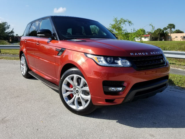 Certified Pre-Owned 2014 Land Rover Range Rover Sport 5.0L V8 Supercharged Autobiography 4WD