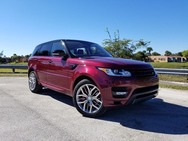 Certified Pre-Owned 2017 Land Rover Range Rover Sport Autobiography