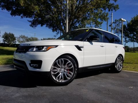 Certified Pre-Owned 2017 Land Rover Range Rover Sport 5.0L V8 Supercharged Dynamic